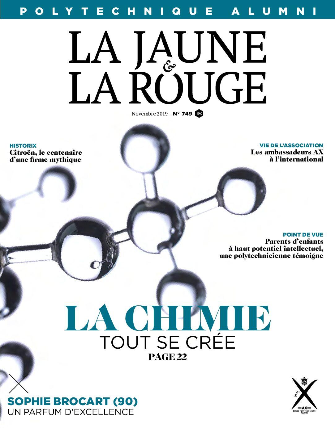 La Chimie N 749 La Jaune Et La Rouge