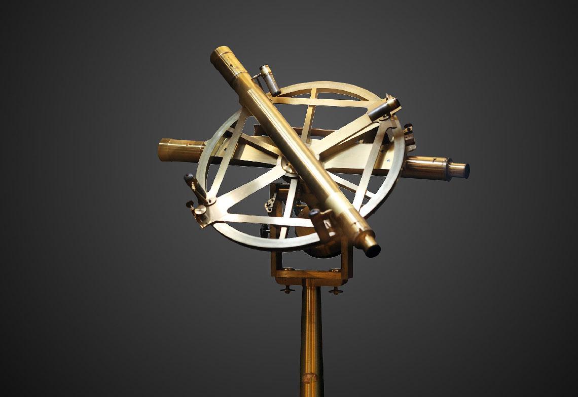 le cercle répétiteur, instrument de mesure de l'arc méridien