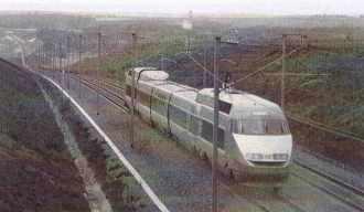Rame TGV record du 18 mai 1990 à 515,3 km/h