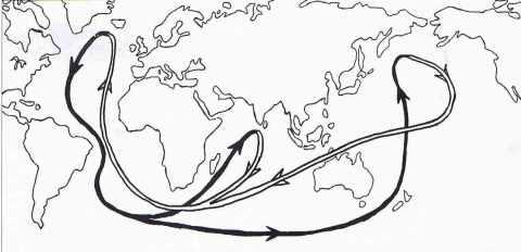 Cycle des courants océaniques