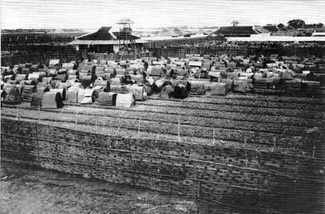 Le camp des lettrés, Centre de Nam Dinh, 1912.