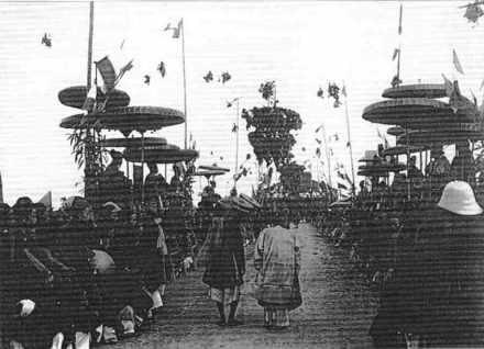 Défilé des lauréats, Nam Dinh, 1897