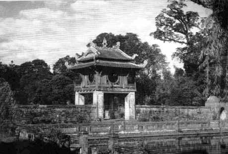Le Temple des Lettres (Vån Mieu) à Hanoi.