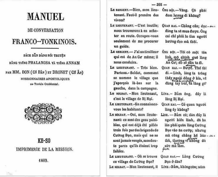 Manuel de conversation franco-tonkinois