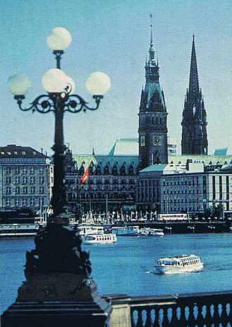 Hambourg, en Allemagne