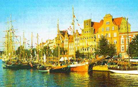 Lübeck, en Allemagne
