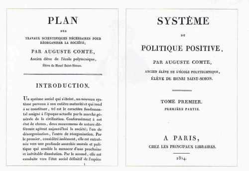 Editions d'Auguste Comte