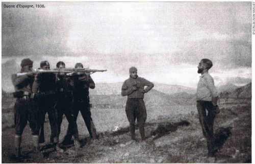 Fusillade pendant la guerre d'Espagne