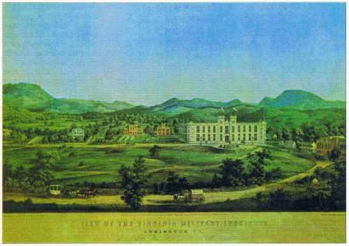 Gravure du Virginia Military Institute