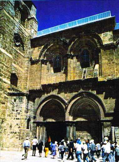 Le Saint-Sépulcre, Jérusalem
