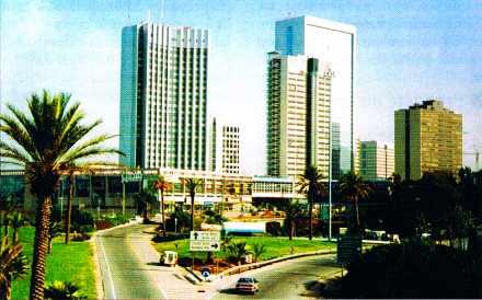 Tel-Aviv, le quartier de la Bourse des diamants