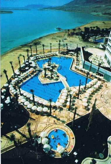Hôtel sur la mer Morte