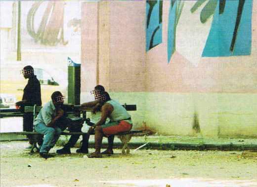 Des jeunes à Vaulx-en-Velin
