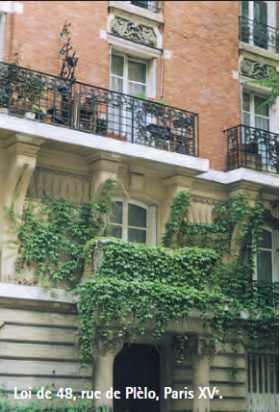 Immeuble loi de 48 rue Plélo à Paris
