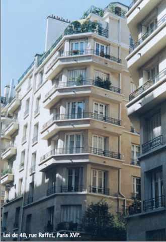 Immeuble loi de 48 Rue Raffet à Paris