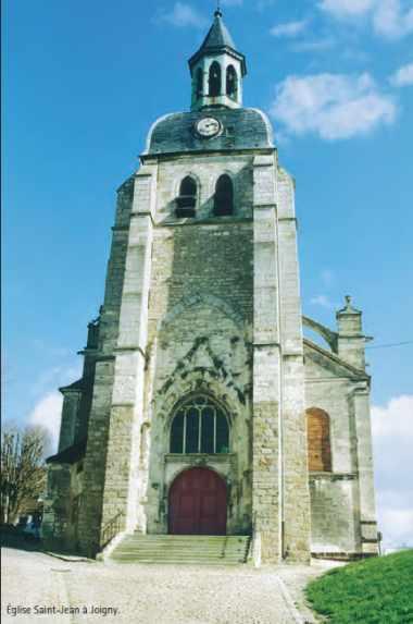 Église Saint-Jean à Joigny.