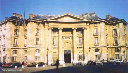 Paris, faculté de Droit.