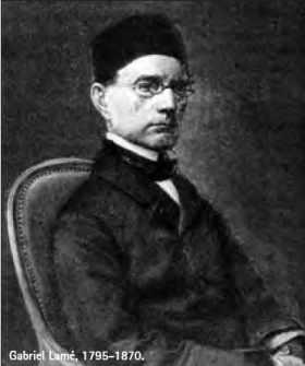 Gabriel Lamé, 1795-1870.