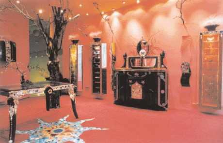 Première boutique de la chaîne de magasins lancée par Georges Soumelis (88)
