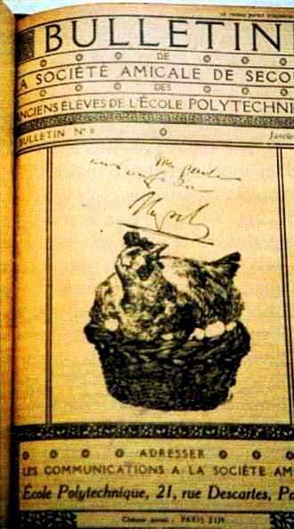 Le Bulletin de la S.A.S. avait pris pour emblème la poule aux oeufs d'or, chère à Napoléon