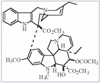 Structure de la Navelbine ® 1