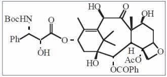 Structure du Taxotère ®2