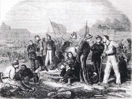 Les Ateliers nationaux du Champ-de-Mars, Paris, mars à juin 1848.