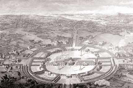 Page du Traité de l'architecture de LEDOUX