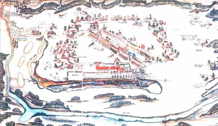 Réduction de Saint-François-Xavier-de-Mocobies, sur le territoire actuel de Bolivie.