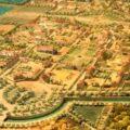 Maquette de la ville de Versoix, réalisée par Follenfant, projet de l'ingénieur Querret, 1774.