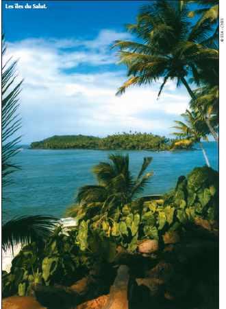 Les îles du Salut.