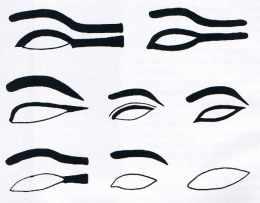 Maquillage des yeux dans l'Egypte ancienne