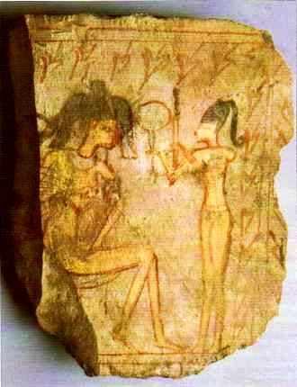 Les gestes du maquillage en Egypte ancienne