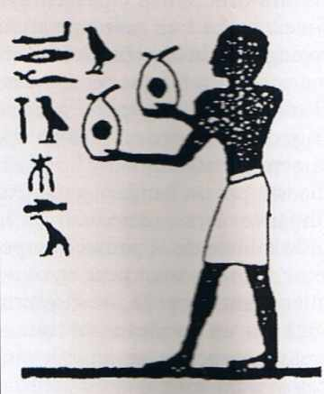 Offrande de fard dans l'Egypte ancienne