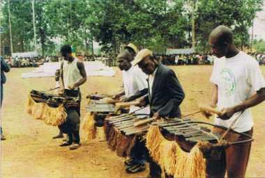 Le balafon de Saranké (Congo).