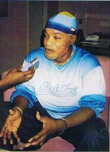 Koffi Olomidé, célèbre musicien africain