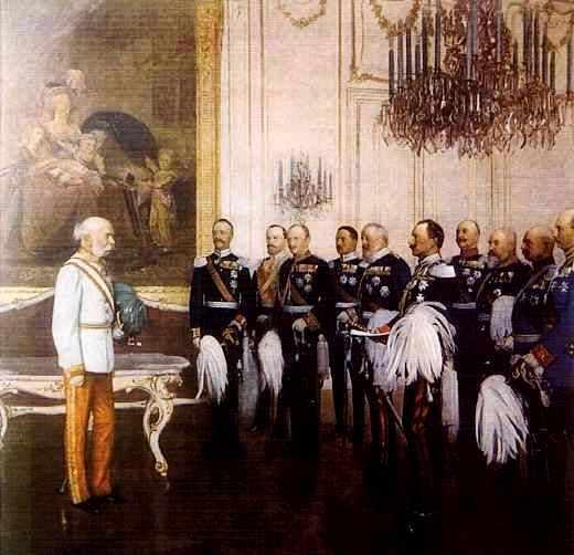 Jubilé de François-Joseph Ier en 1898.