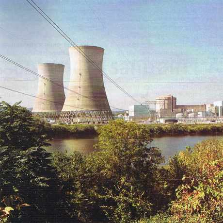 Centrale nucléaire de Three Mile Island.