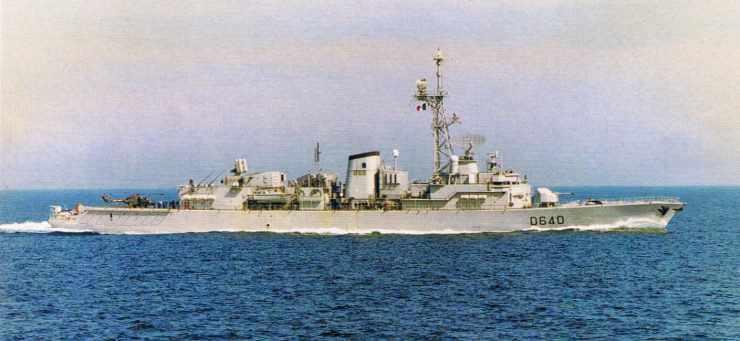 Un batiment de la Marine