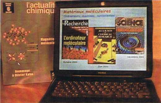 Quelques publications sur les matériaux magnétiques moléculaires
