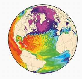 Mercator 2003. Analyse et prévision de l'océan global.