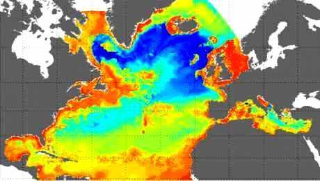 Mercator 2002 en Atlantique Nord et Méditerranée