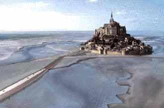 Vue simulée du projet du Mont-Saint-Michel