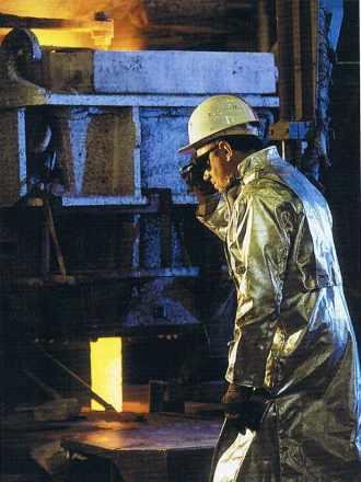 Un sidérurgiste