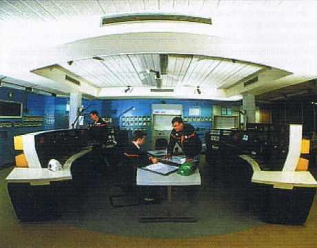 Salle de contrôle.