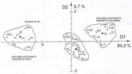 Le climat influence la répartition isotopique