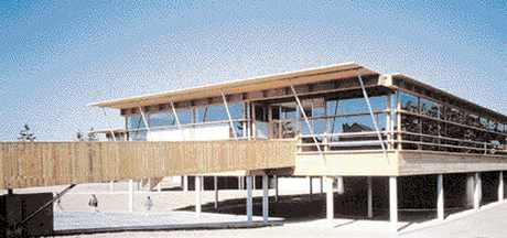 École maternelle – Sartrouville (78).  construction en bois