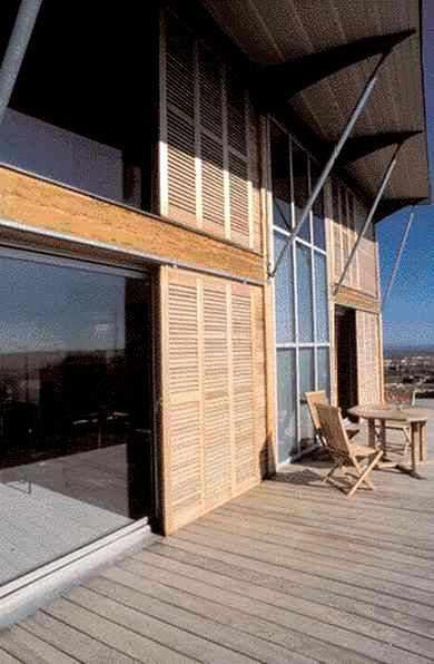 Maison individuelle, Narbonne, Aude. Architectes : A. Escriva, D. Belda.