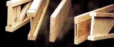 Poutres en I (en bois restructuré)