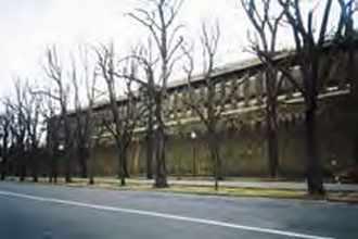 Prison de La Santé, boulevard Arago à Paris.